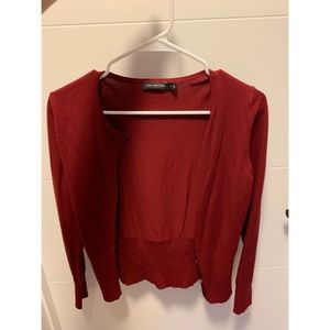 The Limited cardigan, red, never worn!